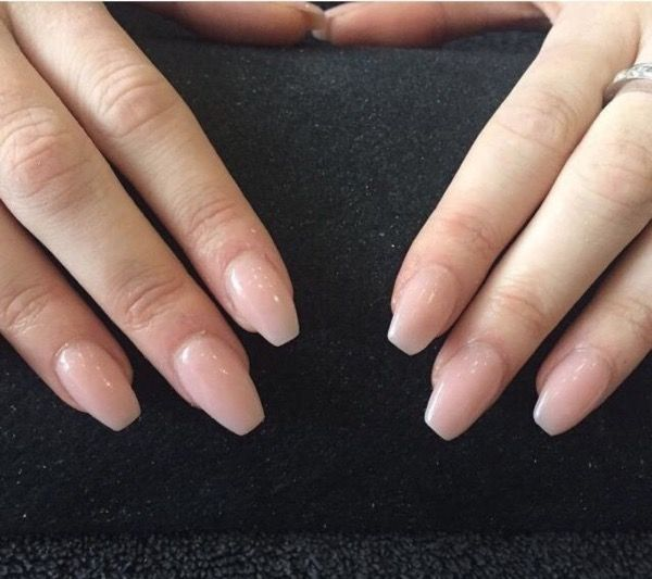 Charming Cute Shape Short Nails For You Page 23 Chic Cuties Blog Coffin Shape Nails Short Coffin Nails Ballerina Nails