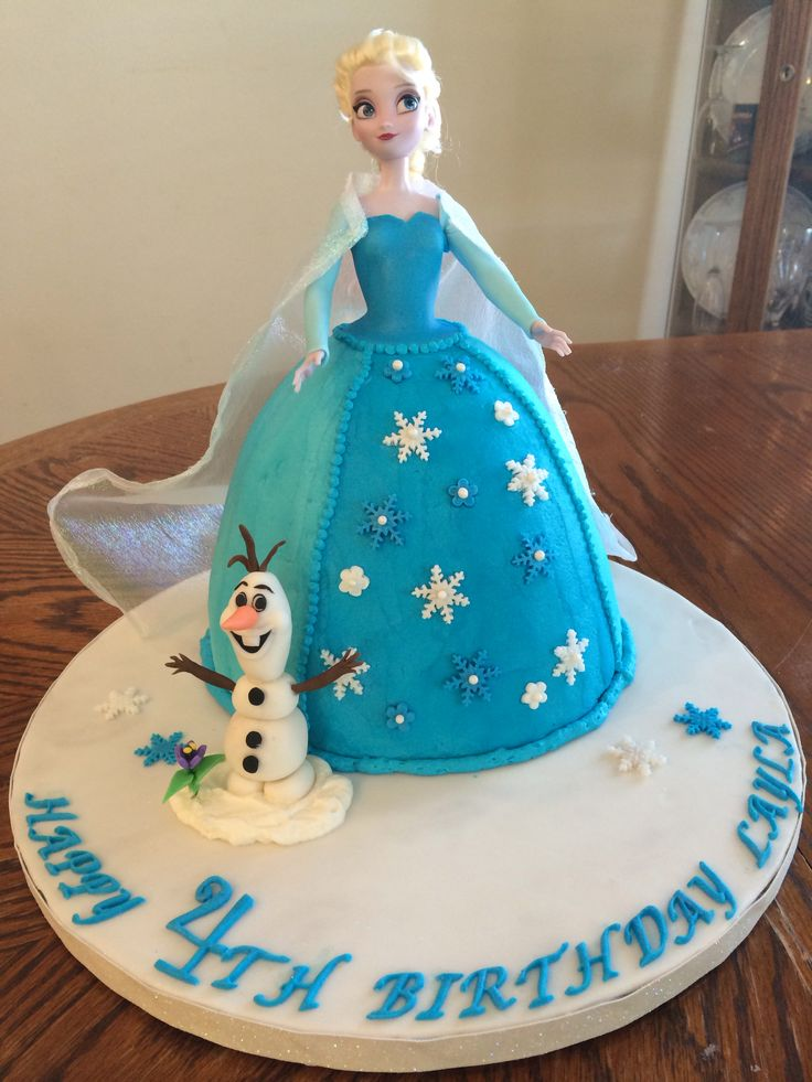 Elsa Doll Cake Decoration : 92 best images about FROZEN Dolls on Pinterest