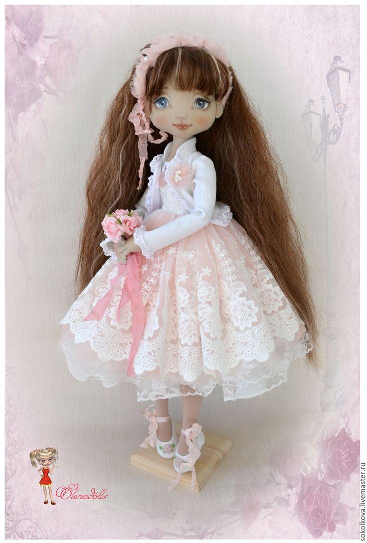 Купить Шурочка. - кукла, кукла в подарок, для девочки, кружевное платье, платье для куклы, игровая кукла