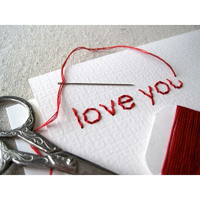 DIY Embroidery cards kit.