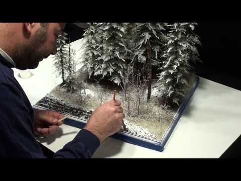 """▶ Ardennes 44' Diorama part 2 """"Let it Snow"""" - YouTube"""