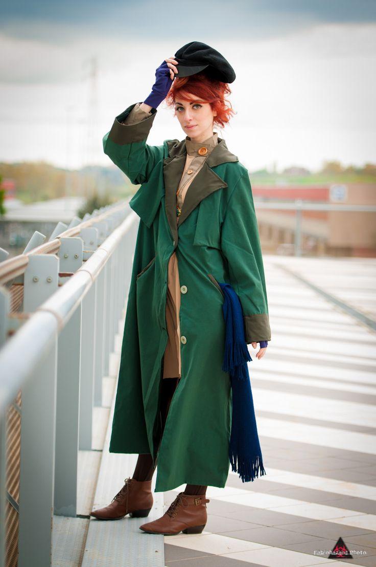 "Journey to the past by Princess-ValeChan.deviantart.com on @deviantART - Cosplay of Anastasia from 20th Century Fox's ""Anastasia"""