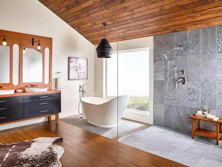 Die besten 25+ Zen badezimmer Ideen auf Pinterest kleines - moderne dachterrasse gestalten ein gruner zufluchtsort grosstadt