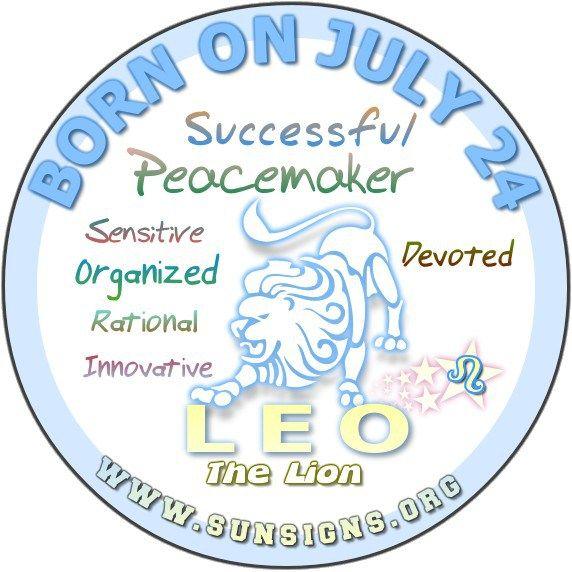July 24 Birthday Horoscope Personality » Sun Signs