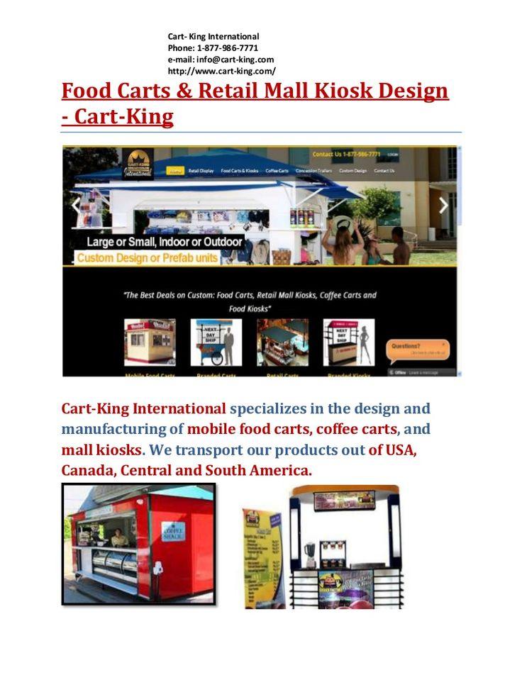 Food Carts for Sale  Cart-King International  Shop for Food Service Carts, Food Prep Carts, Dish Carts, Service Carts, Utility Carts, Kitchen Utility Carts, Restaurant Carts, Shelving Carts and Racks.  http://cart-king.com/