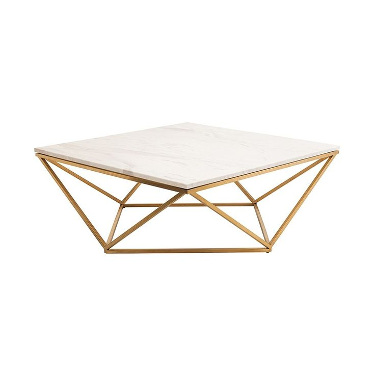 Shop Nuevo Living  HGTB Jasmine Marble Coffee Table at ATG Stores. Browse our coffee tables, all with free shipping and best price guaranteed.