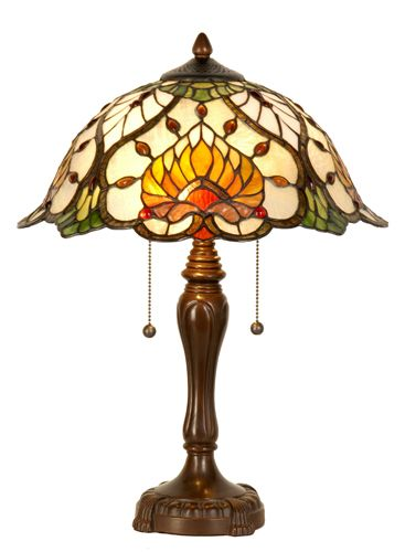 Tafellampen - - Tiffany lamp 5390- De online Tiffany lampen specialist van Nederland