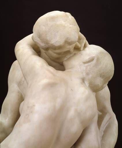 """""""Sărutul"""", Auguste Rodin"""