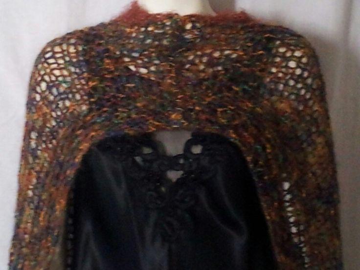 Shelveless shawl