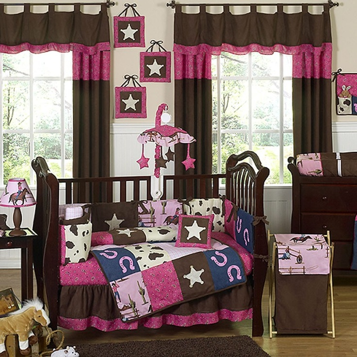 Cute baby cowgirls room