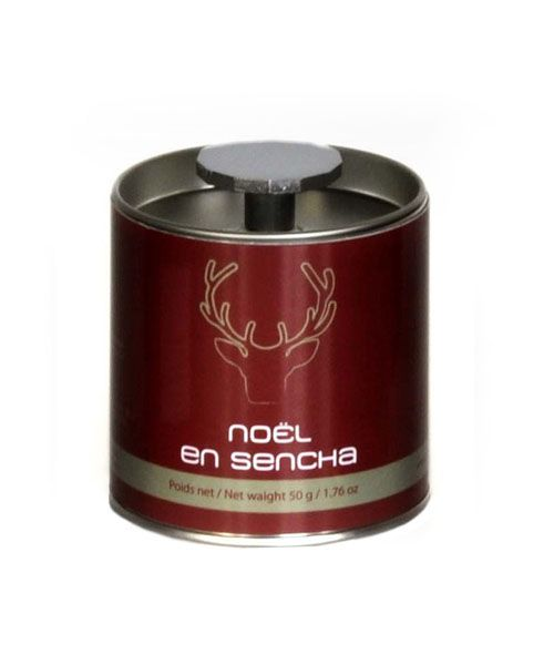 Французский чай Comptoir Noel en Sencha (Рождественский зеленый чай) - качественный зеленый чай с кусочками ароматного миндаля.  Состав: зеленый чай, кусочки миндаля (7%), ароматизатор.