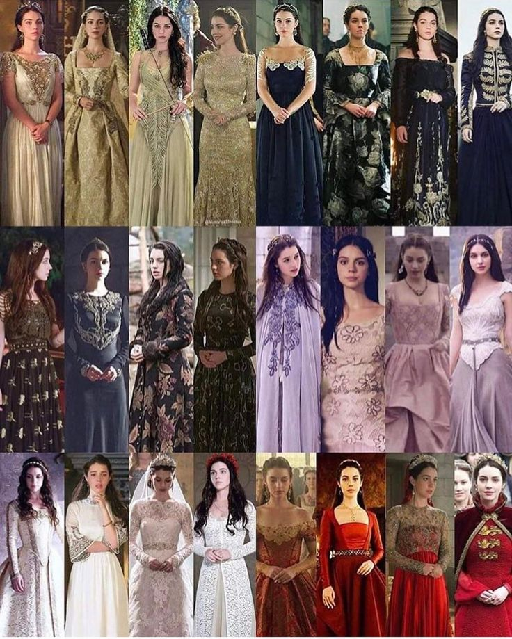 "293 Likes, 3 Comments - @cwreign on Instagram: ""Some of Mary's costumes over the seasons. Never fails to impress #Reign"""