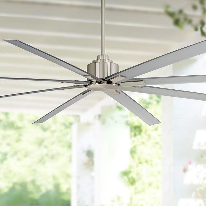 84 Minka Aire Xtreme H2o Brushed Nickel Wet Ceiling Fan 37k59 Lamps Plus In 2020 Ceiling Fan Ceiling Fans Without Lights Minka Aire