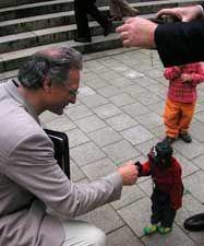 Marionette Jim Knopf auf dem Johannisbergfest 2007, Müllers Marionetten-Theater, Wuppertal