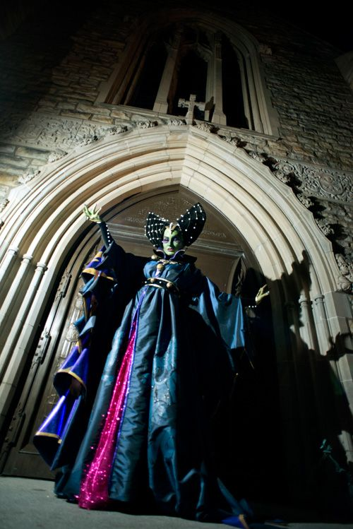 Historical Maleficent Cosplay