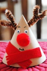 First Grade Christmas Activities: Reindeer Craft for Kids