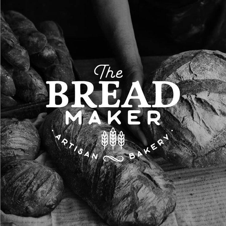 The Bread Maker logo design for an artisan bakery based in
