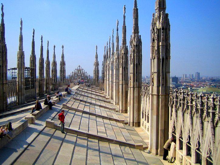 Миланский кафедральный собор – чудо архитектуры. Обсуждение на LiveInternet - Российский Сервис Онлайн-Дневников