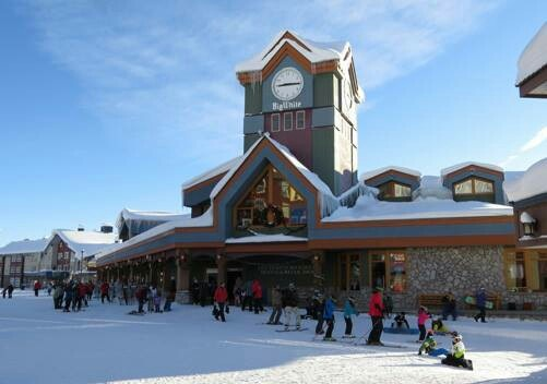 Big White Ski Resort BC Canada.
