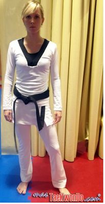 Nikita's Ways: Women's Taekwondo Uniform