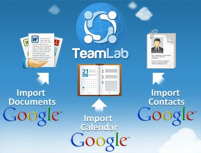 Import data from Google Apps to your project management software