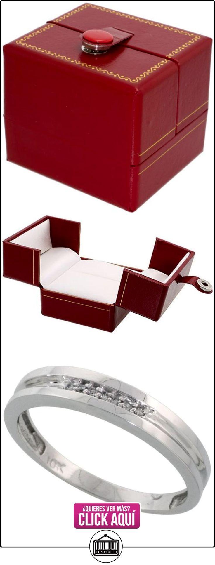 Revoni - Juego de alianzas de oro blanco  ✿ Joyas para hombres especiales - lujo ✿ ▬► Ver oferta: http://comprar.io/goto/B005NW43V2