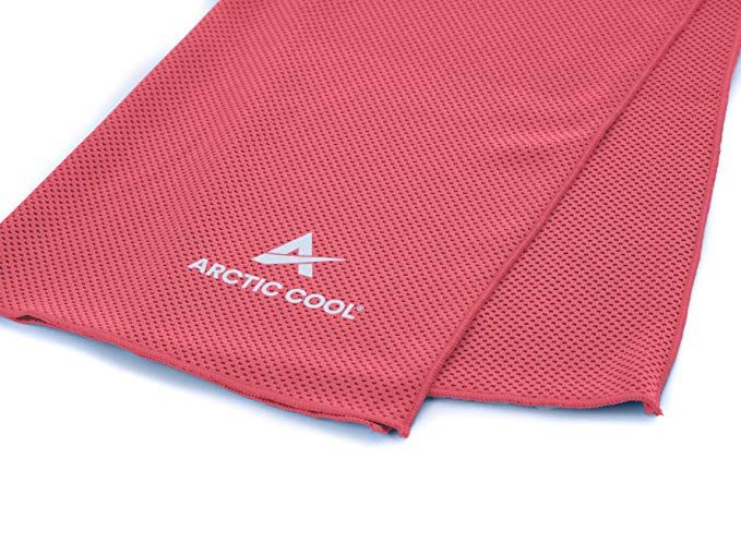 Arctic Cool Instant Cooling Towel Performance Tech Breathable Moisture Wicking Easy To Clean Review Cooling Towels