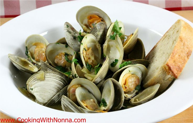Zuppa di Clams   Cooking with Nonna