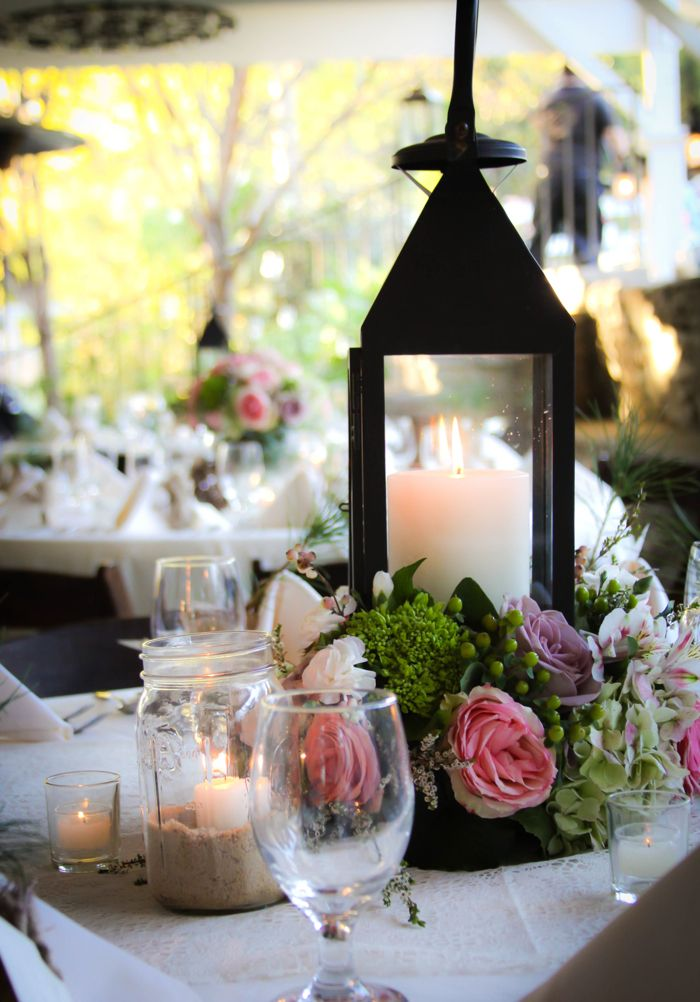 Best images about events centerpieces using lanterns
