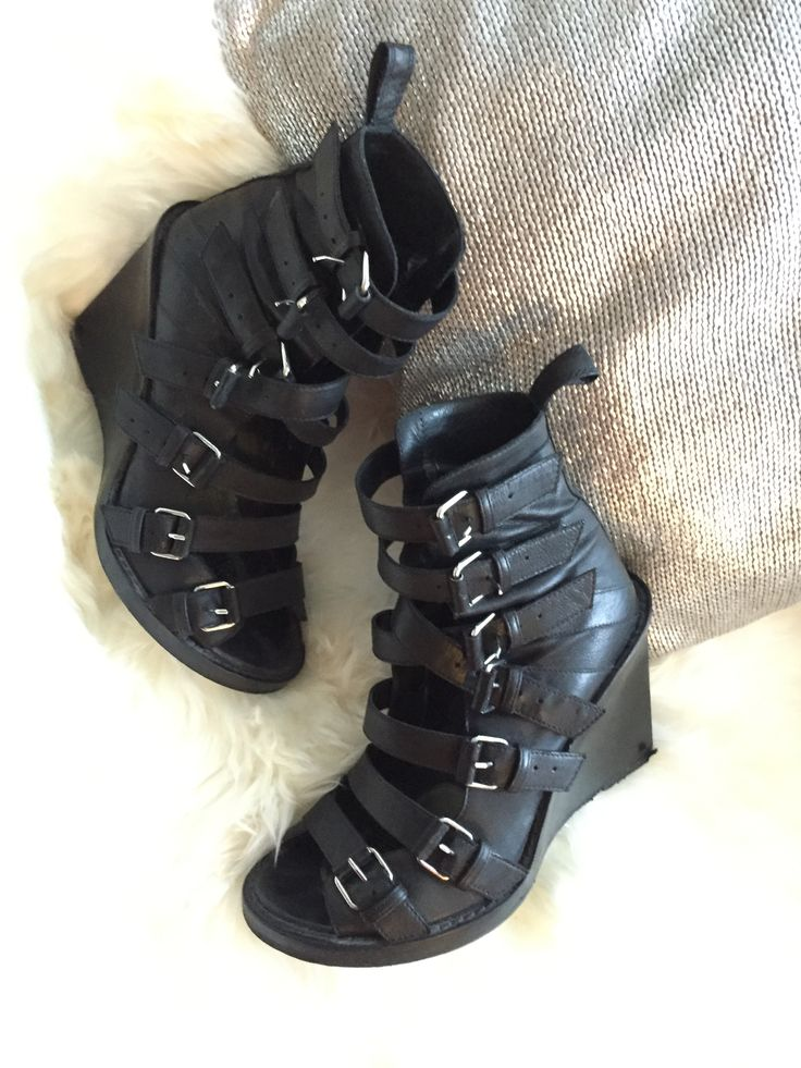 Ann demeulemeester gladiator shoes