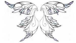 ever after fairy wing patterns | Fairy Wings Tattoo