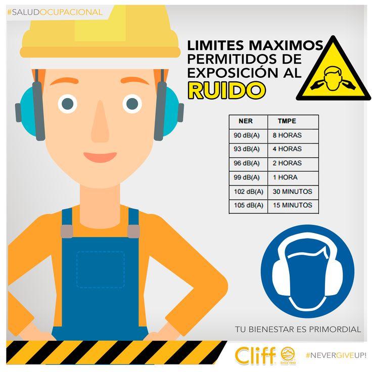 #SaludOcupacional Protege tus oídos del ruido excesivo en tu área de trabajo. #Tusaludesprimordial #ProcliffProtection