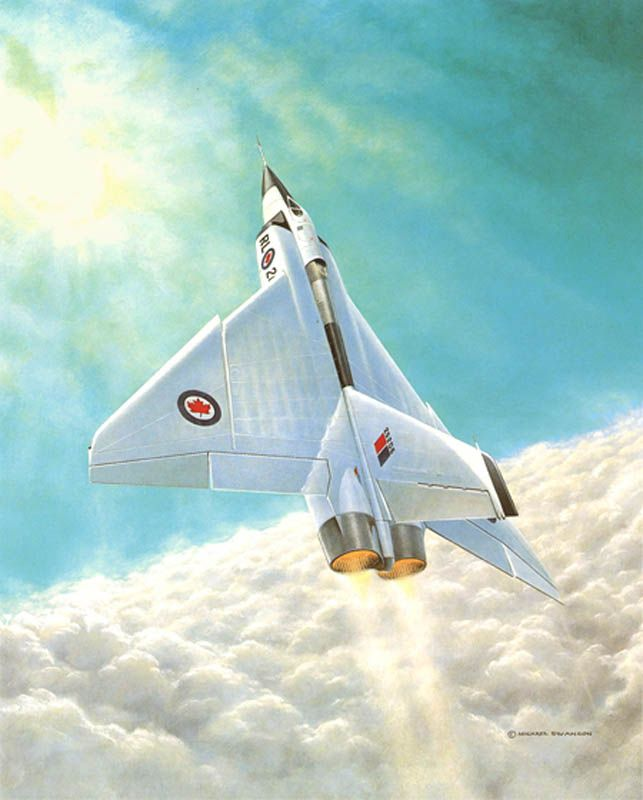 The Canadian CF-105 Avro Arrow