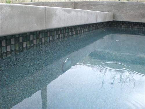 Pool Tile And Coping Ideas slate pool tile maureen gilmer morongo valley ca Cement Pool Coping Google Search