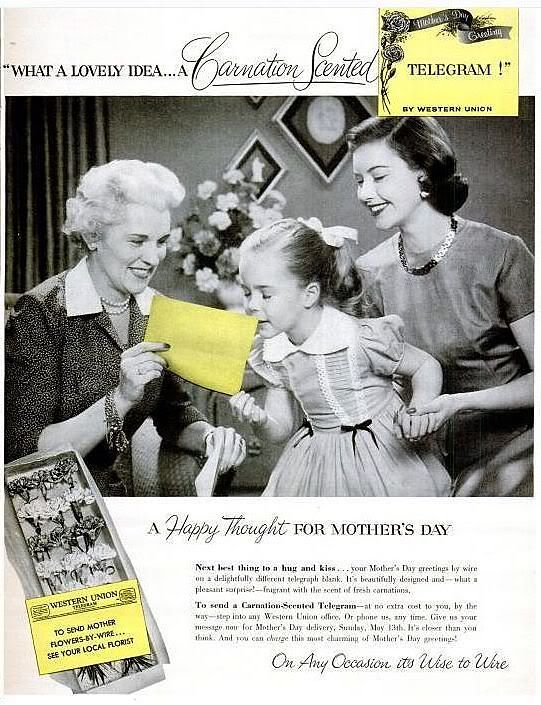 Image result for vintage mother's day gifts magazine ads