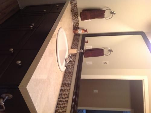"""Daltile Natural Stone Collection Crema Marfil 12 in. x 12 in. Marble Floor and Wall Tile (10 sq. ft. / case)  $67/case of 10SqFt """" We purchased 5 boxes to remodel 2 bathroom countertops. The shipping was quite fast (3 days) and there were no broken or damaged tiles. This was our first tile DIY project and we couldn't be more pleased. The tile color in all 5 boxes matched. The quality is excellent and the counters look beautiful"""""""