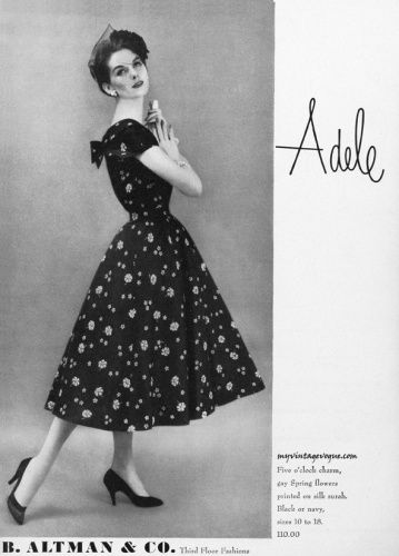 Adele Simpson 1957 - Anne St Marie