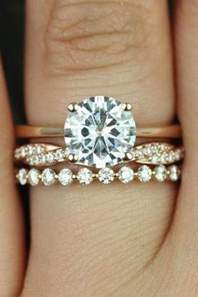 21 Amazing Bridal Sets For Any Style Wedding Ring Designs Diamond Wedding Bands Bridal Ring Sets