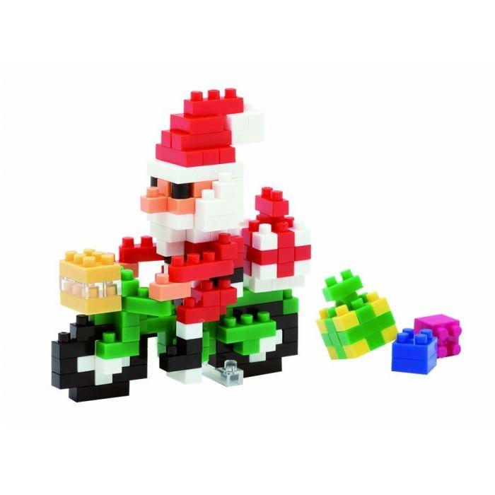 Nanoblock Santa Claus with Bike | Nanoblock | 58405