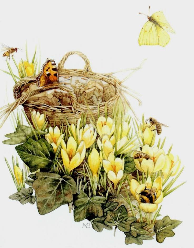 Картинки для декупажа пчелка