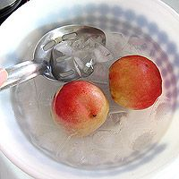 Nectarine baby food purée. Whole 30 Baby Food