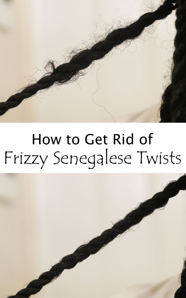 How to Get Rid of Frizzy Senegalese Twists