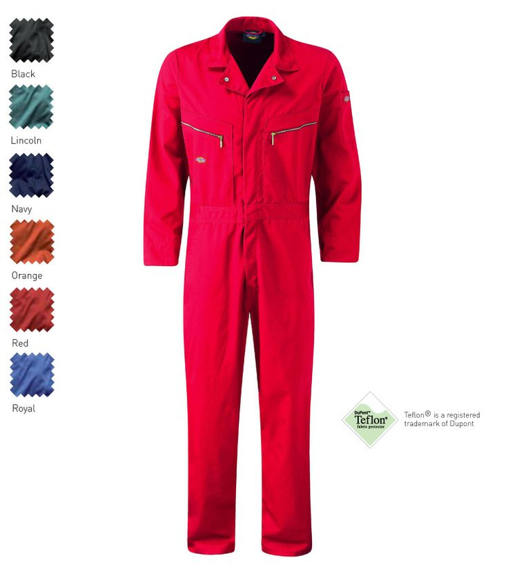 Dickies Workwear | Dickies Overalls | Coveralls | Deluxe Coverall | Dickies WD4879 |