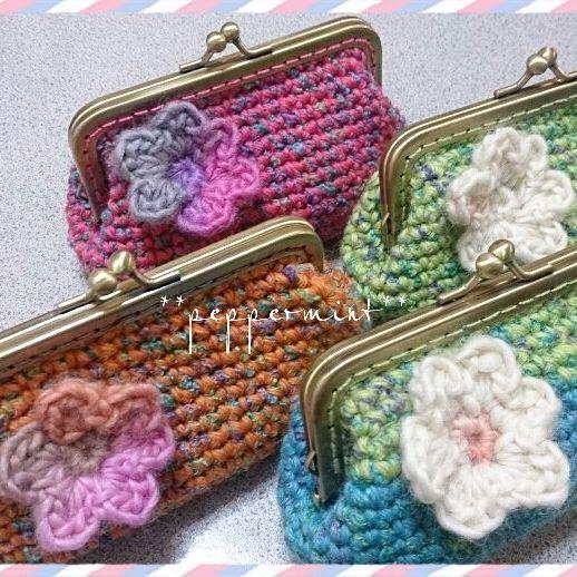 #crochet #coinpurse   #gamaguchi #crochetlove   #crochetcoinpurse #handmade  #like4like