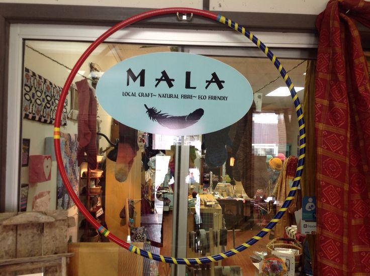 Locally made hoops at MALA