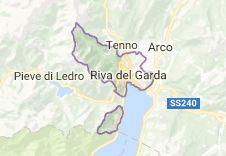 Рива-дель-Гарда Италия: карта