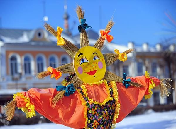 """Maslenitsa the Pagan Russian Sun Festival 