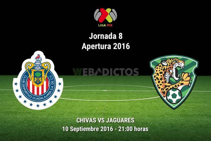 Chivas vs Jaguares en la Jornada 8 del A2016 ¡En vivo por internet!