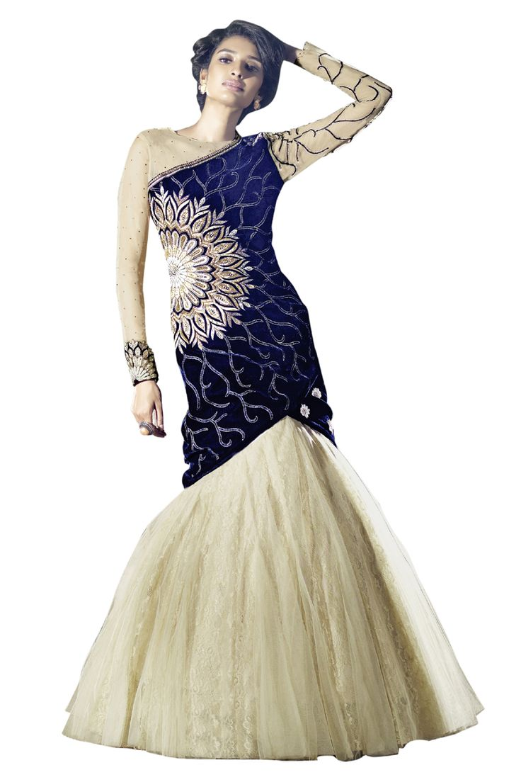 Buy Now Blue Velvet with Double Bottom Indo Western Salwar Suit only at Lalgulal.com  Price :- 5,285/- inr. To Order :- http://bit.ly/ZF15006 COD & Free Shipping Available only in India #anarkalis #anarkalisuits #anarkali #allthingsbridal #designersuits #bridalsuits #ethnicfashion #celebrity #shopping #fashion #bollywood #india #indiafashion #bollywooddesigns #onlineshopping #bollywoodsuits #partywear #collection #wedding #designer #womenswear #indiandesigner #bollywoodfashion