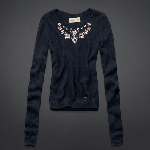 Girls Alcazar Necklace Sweater